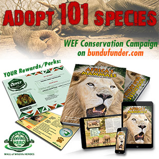 Adopt 101 Species - WEF Campaign